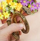 Snake Armband Spiral Belly Dance Bracelet Bangle Cuff Armlet Egypt CleopatraAA35