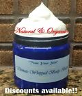 Whipped, Organic Luxurious Body Butter with Shea! All-Natural! $8.5 USD on eBay