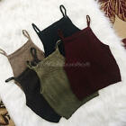 Sexy Fashion Women Ladies Knitted Crop Casual Blouse Tops T-shirt Sleeveless New