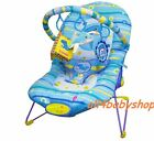 Baby Rocker Bouncer Reclining Chair Soothing Music Viberation Toys 4 Colours