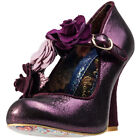 Irregular Choice Aurora Womens Shoes Purple New Shoes