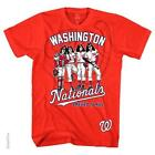 KISS WASHINGTON NATIONALS DRESSED TO KILL OFFICIALLY LICENSED MLB T-SHIRT