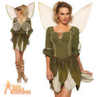 Adult Rebel Tinker Bell Fairy Costume Sexy Ladies Pixie Fancy Dress Leg Avenue