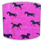 Equestrian Horses Lampshades Ideal To Match Children`s Duvets Curtains Cushions