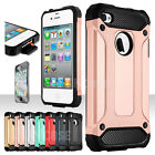 iphone 4 silicone case - For Apple iPhone 4/4S Rugged Shockproof Rubber Matte Silicone Armor Case Cover