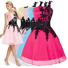 New Lace Masquerade Graduation Prom Short Evening Dresses Ball Gown Party Formal
