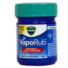 VICKS VAPORUB OINTMENT INHALER RELIEVES NASAL CONGESTION COLD 50 ml 25 ml 10 ml $3.99 USD on eBay