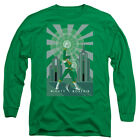 "Power Rangers ""Green Deco"" Long Sleeve"