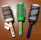"""PRO Hair Volume Ceramic Ionic Thermal Brush Round 53mm Heat Color Change Comb 2"""""""