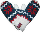 1419 Agan Traders Himalayan 2 PLY Wool Fleece Knit Sherpa Mitten Glove Nepal
