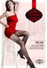 Black Hollow Out Pattern Pantyhose Fishnet Stockings Tights One Size Mix Design
