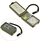 10in1 High Precision Outdoor Professional Pocket Military Army Compass Hiking AU