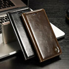 For iPhone 7/7Plus Case Flip Leather Wallet Case Card Slots  Cover Magnetic Skin