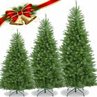 PREMIUM 5/6/7FT GREEN COLORADO CHRISTMAS ARTIFICIAL PINE XMAS TREE METAL STAND