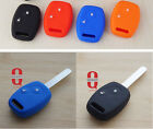 Silicone Car Key Case Cover For Honda CRV Civic Fit Freed StepWGN 2 BTN