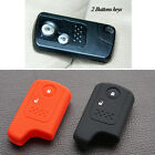 silicone car key cover case for honda accord fit crv civic remote protector