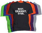 BEST GRANNY EVER T-Shirt GRANNY Holiday Christmas Gift Family Nickname Tee