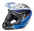 Fly Racing Kinetic Crux Graphic Blue Off Road Helmet
