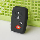 silicone key fob cover case fit TOYOTA rav4 Land Cruiser Camry Highlander