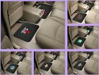 NBA Licensed Rubber Vinyl Car Truck Floor Utility Mats Set 2 Mats - Choose Team