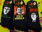 Hammer House of Horror Socks - Dracula - Frankenstein - Mens Socks - Size 6 - 12