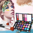 26 Colors Pro Smoky Matte Shimmer Eyeshadow Palette Blusher Lip Gloss Makeup Set