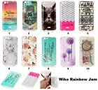 Fashion Cute Soft Rubber TPU Silicone Gel Case Cover Skin For Wiko Rainbow Jam