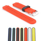 Dual Silicone Watch Band Strap Replacement for Garmin Forerunner 230 235 630 US