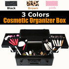 Womens Cosmetic Organizer Stand Box Make Up Case Bag Jewelry Storage Case J2S4