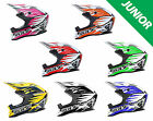 Wulfsport JUNIOR ADVANCE Motocross MX Helmet Youth Kid Quadbike ATV ACU Pitbike