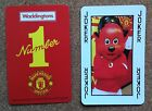 WADDINGTONS Football Playing Card Manchester United - VARIOUS