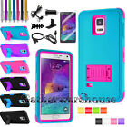 samsung note 4 accessories - For Samsung Galaxy Note 4 Shockproof Rugged Hybrid Rubber Hard Phone Cover Case