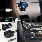 Wireless BT 3.5mm Stereo Music Audio Receiver USB Charger Adapter Car Kit