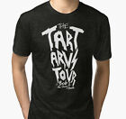 New The Tartarus Tour (White Text) Men's Black T-Shirt Size S to 2XL
