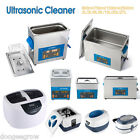 Digital Ultrasonic Cleaner Ultra Sonic Bath Cleaning Tank Stainless Timer Heater