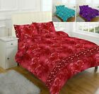 Luxury Jasmin Duvet Cover Bed Set With Pillow Cases Single Double King Superking