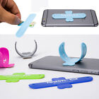 Universal Portable Touch-U Soft Silicone Mobile Stand Holder For Cell Phone