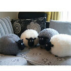 White/Gray Sheep Character Stuffed Soft Plush Toys Kids Baby Toy Or Cushion