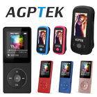 mp3 players 8gb - AGPtEK 2017 Latest Version 8GB 70 Hours Playback MP3 Lossless Sound Music Player
