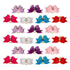 20/50/100pcs Cute Puppy Pet Dog Cat Hair Bows Grooming Accessories Decorations
