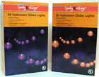 35 Halloween Globe Light Set S2S - NEW Spooky Village Purple/Orange Choice NEW