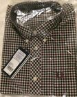 NWT FRED PERRY LAUREL CHECK SHIRT STYLE #M8300
