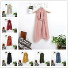 New Fashion Solid Color Women Long Scarf Wrap Ladies Soft Shawl Scarves Winter