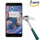 """2Pcs Premium Tempered Glass Film Screen Protector For OnePlus 3/OnePlus 3T 5.5"""""""