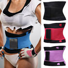 US Sport Waist Cincher Belt Body Shaper Tummy Trainer Belly Underbust YOGA Gym