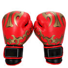 PU Leather Gel Boxing Gloves Fight Punch Bag MMA Muay Thai Grappling Pad Kick