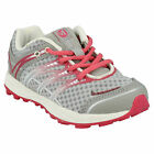 GIRLS KIDS MERRELL MIX MASTER JAM LACE UP SILVER EVERYDAY TRAINERS SHOES