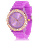 Womans Watches Quartz Jelly Silicone Analog Sports New Ladies Wrist Watch