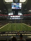 DALLAS COWBOYS vs TAMPA BAY BUCCANEERS 2 (of 4) Tickets Lower Level