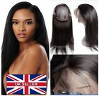 360 Frontal Closure Unprocessed Human Hair Brazilian Straight - Bodywave - Curly